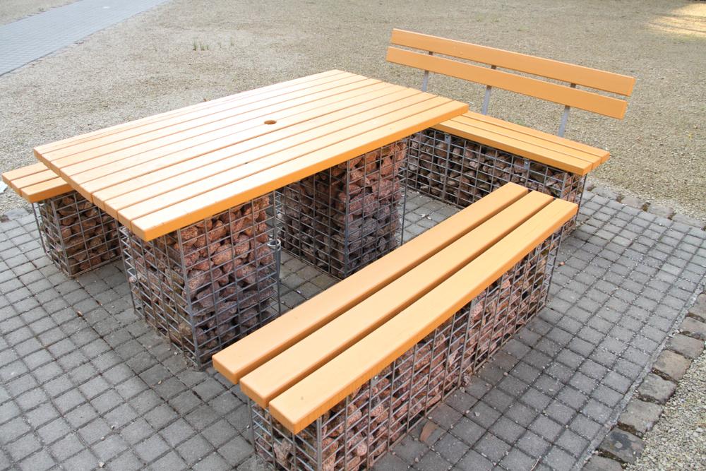 gabion bench review