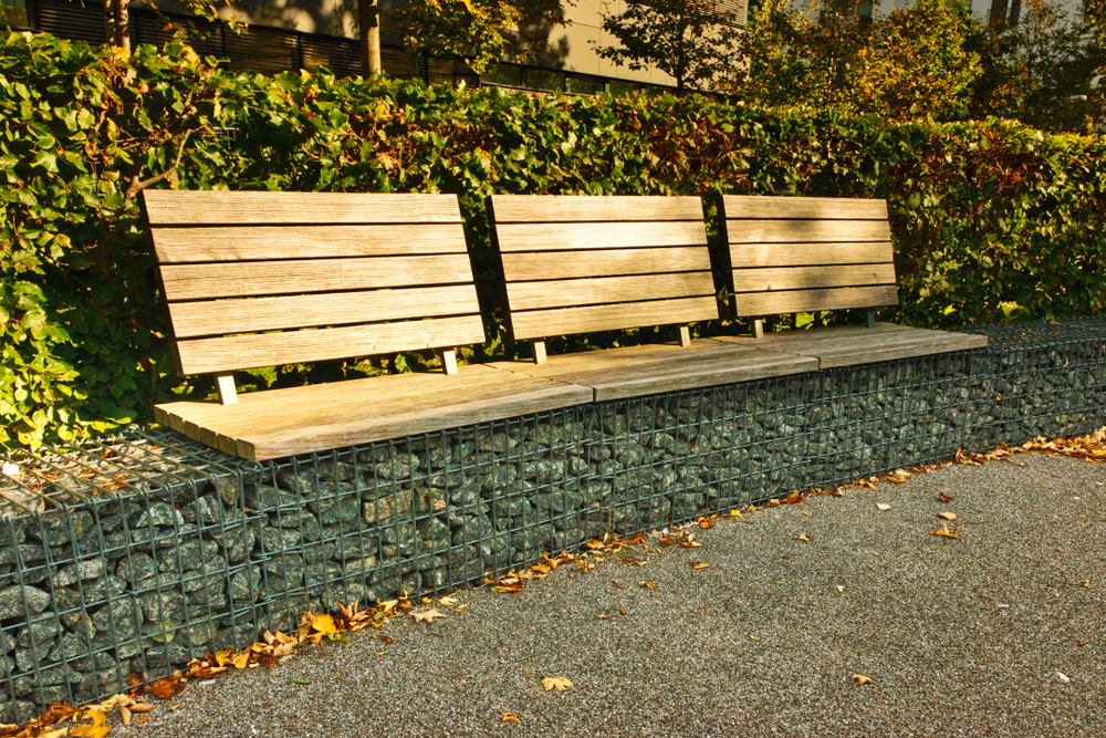 reviews for gabion benches