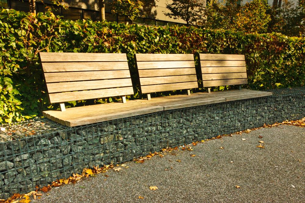gabion benches photos